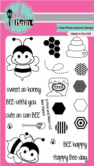 Bee Happy - Stamp Set