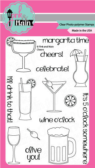 Cheers - Stamp Set