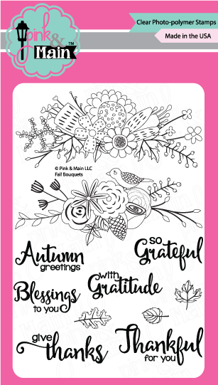 Fall Bouquets - Stamp Set