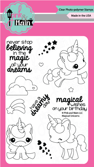 Magical Unicorns - Stamp Set