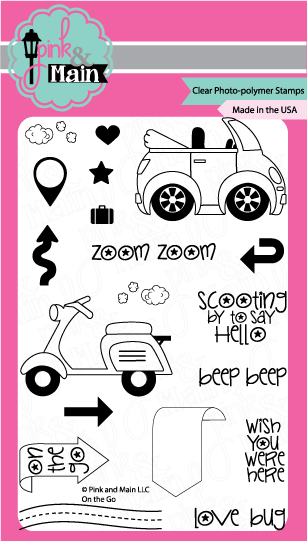 On The Go - Stamp Set