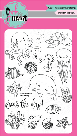 Seas The Day - Stamp Set