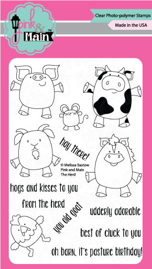 Cheap Good The Herd Stamp Set With Herd Set With Pyrolyse Herd