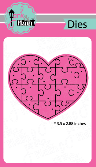 Heart Puzzle - Die Set