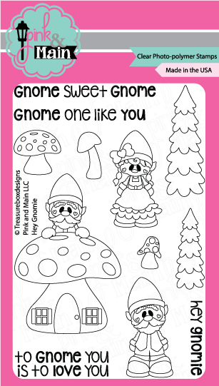 Hey Gnomie - Stamp Set