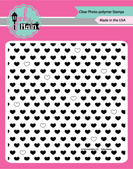 Polka Hearts - Stamp Set