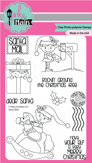 Santa Mail - Stamp Set