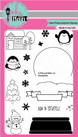 Snow Globe - Stamp Set