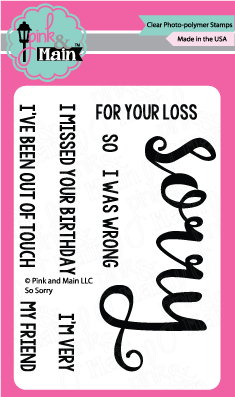 So Sorry - Stamp Set