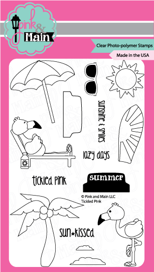 Tickled Pink - Stamp Set