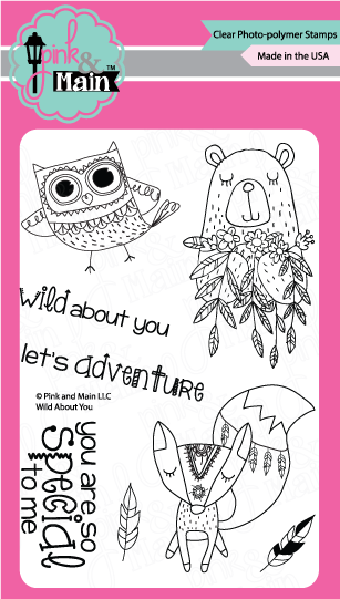 Wild About You - Stamp Set